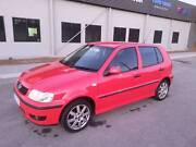 VW polo 2001 red Midland Swan Area Preview