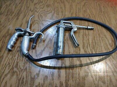 Ridgid D512-1 Hand Pump Oiler Gun Plus Lubrimatic Products Oiler Gun Free