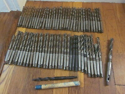 72 Morse Taper Mt1 Hss Twist Drill Tool Set Machinist Lathe Mill Cnc Many Nos