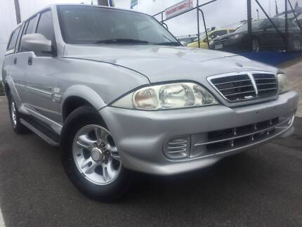 2006 Ssangyong Musso Ute