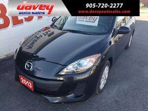 2013 Mazda Mazda3 GS-SKY HEATED SEATS, POWER WINDOWS, POWER L...