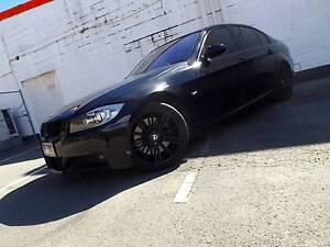 2008 BMW 3 Sedan 335i M sport, black on black, twin turbo Woolloongabba Brisbane South West Preview