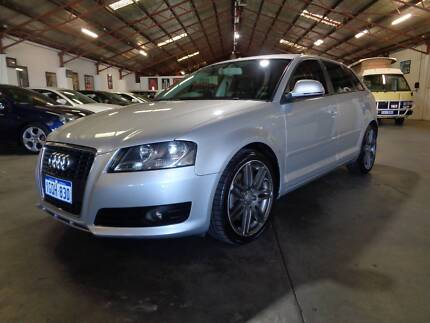 EXTREMELY TIDY EXCELLENT SERIVCE HISTORY 2009 Audi A3 Hatchback Bentley Canning Area Preview
