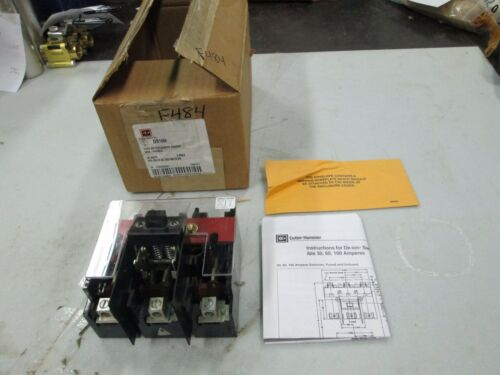 Cutler-Hammer Type DS Disconnect Switch Non-Fusible DS16U 30 Amps 600 VAC (NIB)