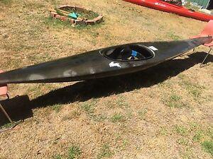 Whitewater Slalom Kayak + Skirt (spray deck) Woodbridge Swan Area Preview