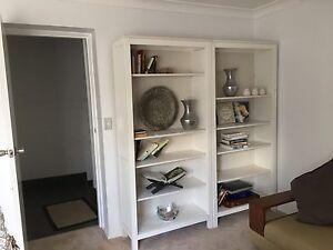 White bookcases x2 Lane Cove North Lane Cove Area Preview