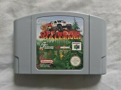 OFF ROAD CHALLENGE Nintendo 64 N64 Game PAL VERSION