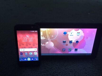 Android tablet and phone $20 the lot
