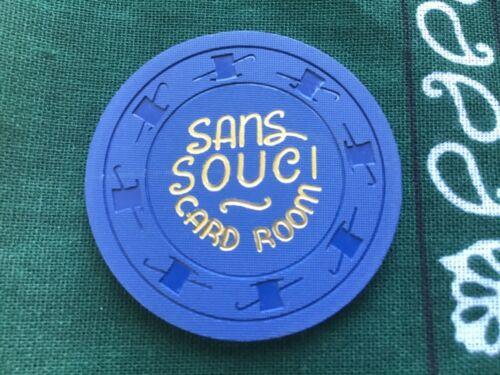 Sans Souci Card Room Las Vegas NV $1 casino chip