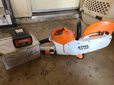 Stihl Tsa 230 9 Inch Concrete Cut Off Demolition Saw 3 Year Warranty Pre Owned
