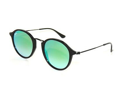 BEST DEAL RAY BAN 2447 BLACK/GREEN MIRROR 901/4J RAYBAN SUNGLASSES