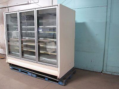Hill Phoenix Hd Commercial Lighted Remote Refrigeration 3 Doors Merchandiser