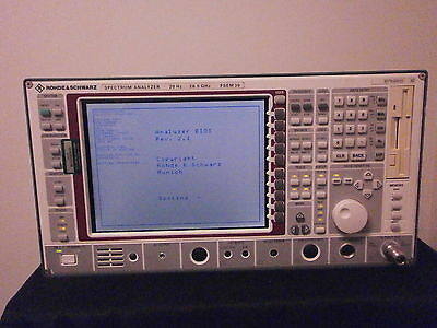 Rohde Schwarz Fsem30 Spectrum Analyzer W Opt B4b5b7b22b23