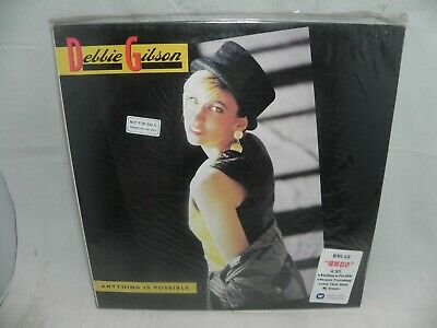 Debbie Gibson - Anything Is Possible 1990 Korea Promo LP & NO BARCOD SEALED NEW