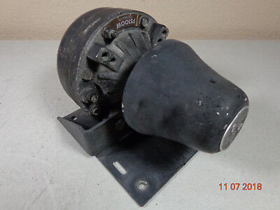 Federal Signal Fs100 100 Watt Police Public Safety Siren Speaker W Bracket P4