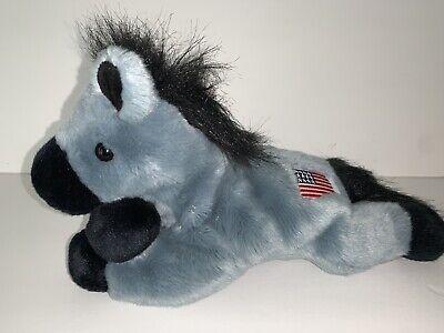 TY Retired Lefty the donkey Beanie Buddy USA