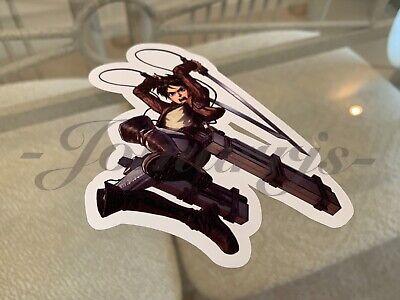 Attack On Titan Titan Eren (Attack on Titan - Anime - Eren Yeager Custom Sticker Decal Vinyl manga)
