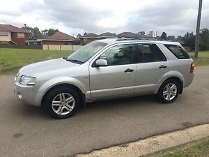 2004 Ford Territory SX Ghia AWD 7Seater Auto 6months Rego Liverpool Liverpool Area Preview