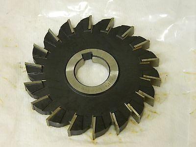 HSS Import Staggered Tooth Side Milling Cutter 3-1//2 DIA x 5//16 Face x 1 Hole x 18 Teeth