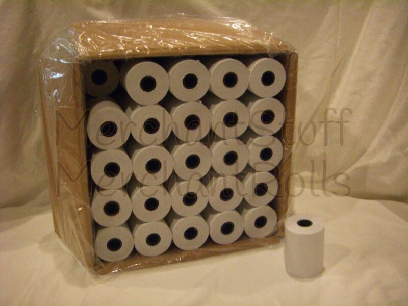 PAX S80  Thermal Paper  ***50 Rolls*** FREE SHIPPING
