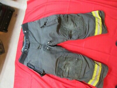 Black Globe Gxtreme 46 X 30 Gear Bunker Pants Turnout Pants Fdny Style Fire
