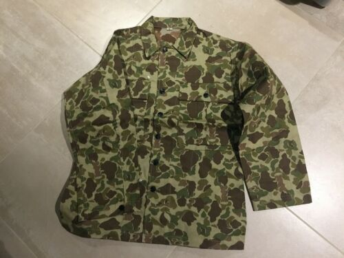 ww2  HBT shirt camouflage, remake, new, small