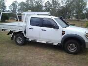 2011 Ford Ranger 4x4 dual cab tray back Lockyer Waters Lockyer Valley Preview