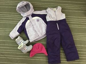 2T Snowsuit bundle