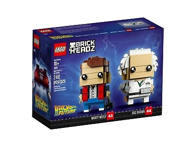 Marty Und Doc (LEGO® 41611 BrickHeadz Marty McFly und Doc Brown - NEU & OVP -)