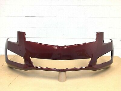 2013-2014 OEM cadillac ats sedan front bumper cover 20861604 (baroque red)  #2