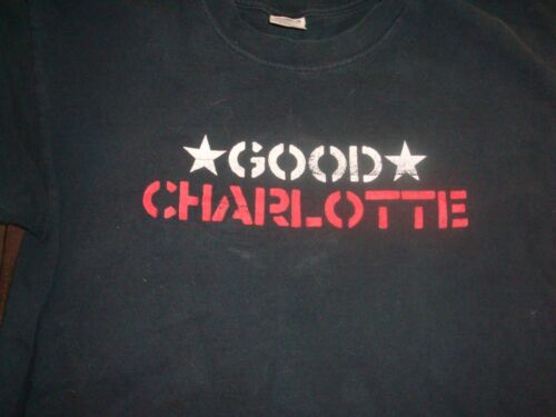 Cool Two-Sided Good Charlotte T-Shirt, Size Large, Nice Shape!