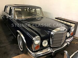 Mercedes-Benz 600 zur Restaurierung in Originalzustand W100.12