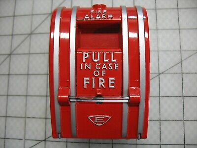 Edwards 270-spo Non-coded Fire Alarm Pull Station Break Glass Type