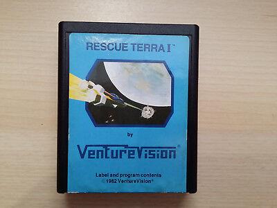 Atari 2600 game Rescue Terra I Rarity 9! Ex Rare! Very Hard to Find L@@K!