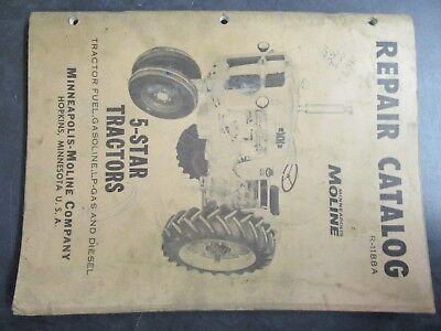 Minneapolis Moline 5-star Tractor Repair Catalog