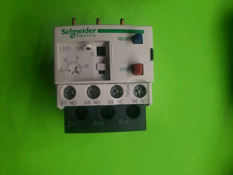 Schneider Electric LRD14  Overload Relay 7-10 Amp. Aaon PN# P61100. New. Tesys.