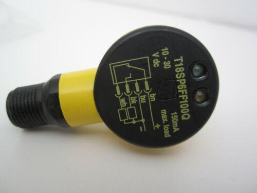 Banner Engineering T18SP6FF100Q (33415) EZ beam proximity sensor. NEW