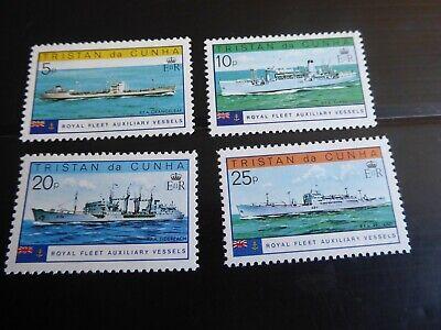 TRISTAN DA CUNHA  1978 SG 250-253 ROYAL FLEET MNH