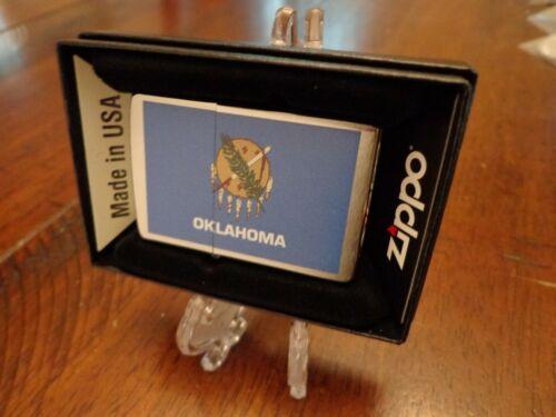 OKLAHOMA STATE FLAG SERIES ZIPPO LIGHTER MINT IN BOX