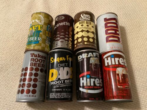 Vintage Root Beer Can Lot