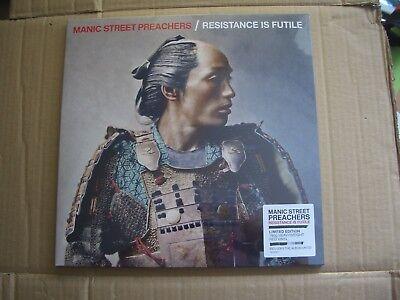 MANIC STREET PREACHERS - RESISTANCE IS FUTILE - RED VINYL LP + CD - NEW / SEALED