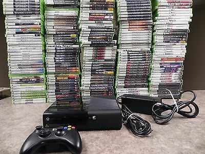 Microsoft Xbox 360 E Launch Edition 4GB Black Console (NTSC)  Slim Elite   Fast for sale  Elmira