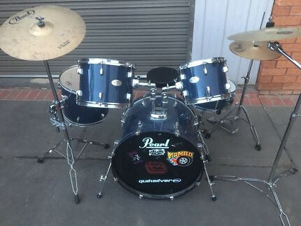 Pearl Forum Drum Kit Set Complete Includes Everything You'll Need
