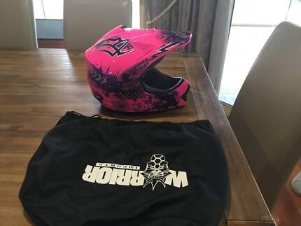 Youth Motocross Helmet Pink