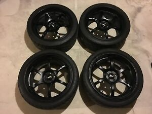 """18"""" Advan Racing RG-D (real) with Toyo Proxes R1Rs"""