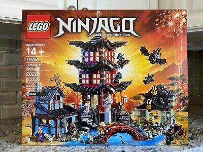 LEGO Ninjago Temple of Airjitzu 70751 NEW Factory Sealed Box - 2028 piece set