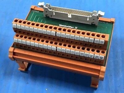 USED WEIDMULLER 350122 TERMINAL BLOCK MODULE (A29)