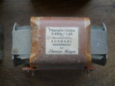 Lundahl Filament Choke For Thomas Mayer For Tube Amplifiers
