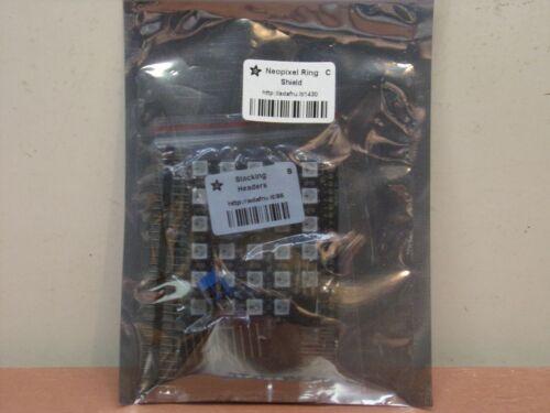 Adafruit NeoPixel Shield for Arduino - 40 RGB LED Pixel Matrix - white - NEW!