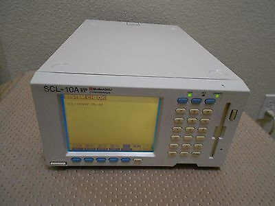 Shimadzu Scl-10avp Hplc System Controller V5.42 Works Nice Agilent Waters Hp